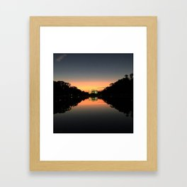 Lincoln Monument Framed Art Print