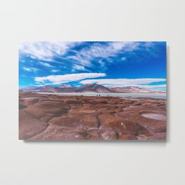 Piedras Rojas (Red Rocks), San Pedro de Atacama Desert, Chile Metal Print