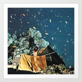 Notte pescata Art Print