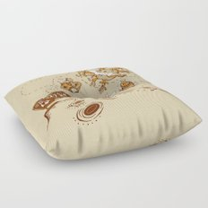 Three Step Plan Floor Pillow