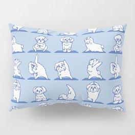 Maltese Yoga Pillow Sham