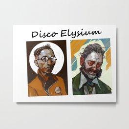 Disco Elysium Metal Print