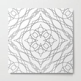 Geometric #13b Metal Print