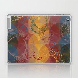 Vintage Spirals Laptop & iPad Skin