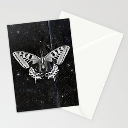 Butterfly in the stars Stationery Cards