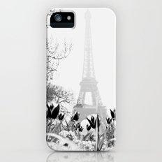 Paris Black & White Slim Case iPhone (5, 5s)