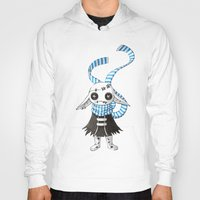 doll Hoodies featuring Rag Doll by Freeminds