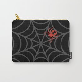 Inverted Black Widow Carry-All Pouch
