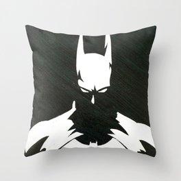 The DarkKnight Throw Pillow