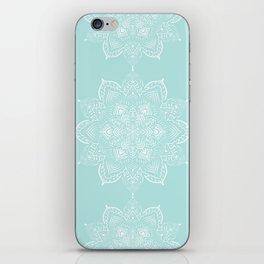 Winter Spirit Mint iPhone Skin