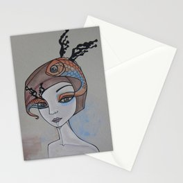 fish eye Stationery Cards