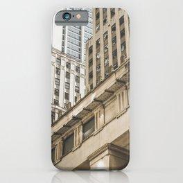 Federal Hall, New York photos, I love NY, Wall street, fine art photo iPhone Case