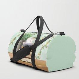 Tea and book love Duffle Bag