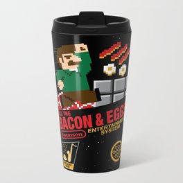 All the Bacon and Eggs Metal Travel Mug