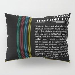 Philosophia II: I think, therefore I am Pillow Sham