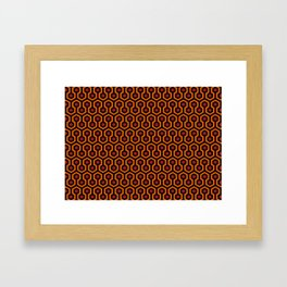 The Shining Carpet Framed Art Print