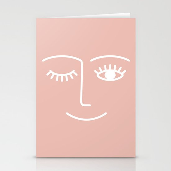 Wink / Pink by summersunhomeart
