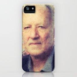 Werner Herzog iPhone Case