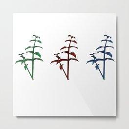 resident evil herbs Metal Print
