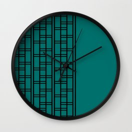Clink Jade Wall Clock