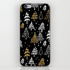 Christmas Tree Pattern iPhone & iPod Skin