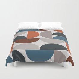 Mid Century Modern Geometric 25 Duvet Cover
