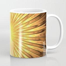 Rays of GOLD SUN abstracts Coffee Mug