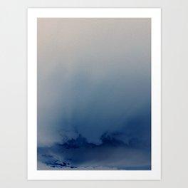 Minnehaha Blue Art Print