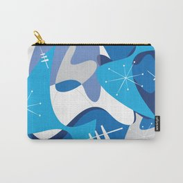 Blue Bam Boom Carry-All Pouch
