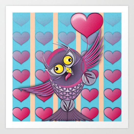 We all need Love Art Print