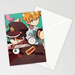 Hanako and Nene   Stationery Cards