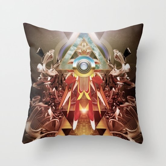 Powerslave 2020 Throw Pillow