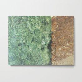 Sea contrast Metal Print