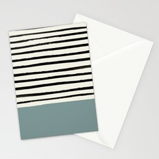 River Stone & Stripes Stationery Cards