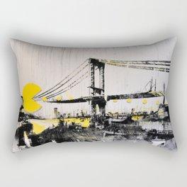 Mixed Media Art 1 Rectangular Pillow