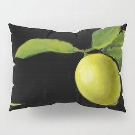 Lemon on Black DP150415a Pillow Sham