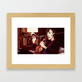 Sherlock. Framed Art Print