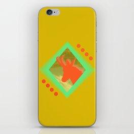 chamois d'or iPhone Skin