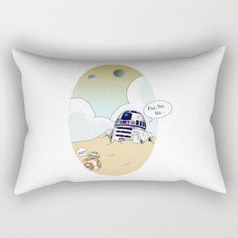 R2-d2 and BB-8 Rectangular Pillow