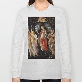 Primavera, Botticelli Long Sleeve T-shirt