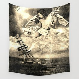 sailboat Wall Tapestry
