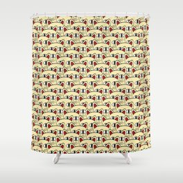 Cats invasion Shower Curtain