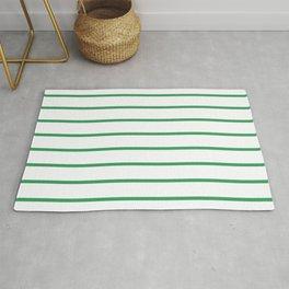 Kelly Green Breton Stripes Rug