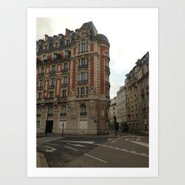 Au coin (Paris) Art Print