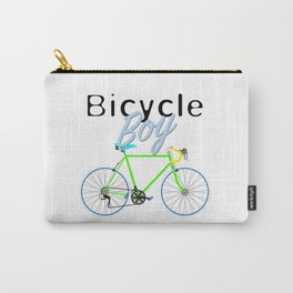 Bicycle Boy – June 12th – 200th Birthday of the Bicycle Carry-All Pouch