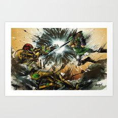 The Battlefield Art Print