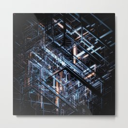 Connections I Metal Print