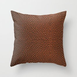 Football / Basketball Leather Texture Skin Throw Pillow