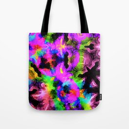 Glad Abstract Kaleidoscopic Version 6 Tote Bag