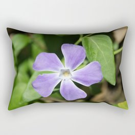 Lilac Periwinkle Rectangular Pillow